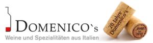 Logo Domenicos mit Kronkorken