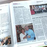 Bericht im Wochenspiegel