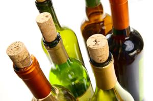Bild Weinflaschen